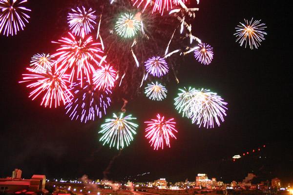 信州の花火大会